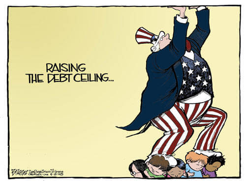 raising the debt ceiling in the united states